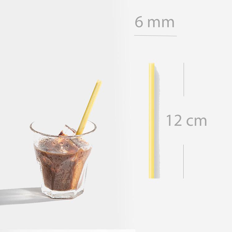 ống hút cafe size ngắn