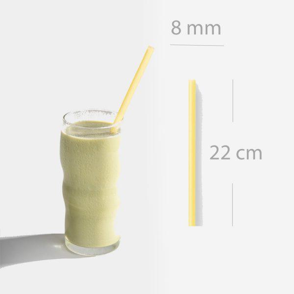 ống hút gạo sinh tố size dài