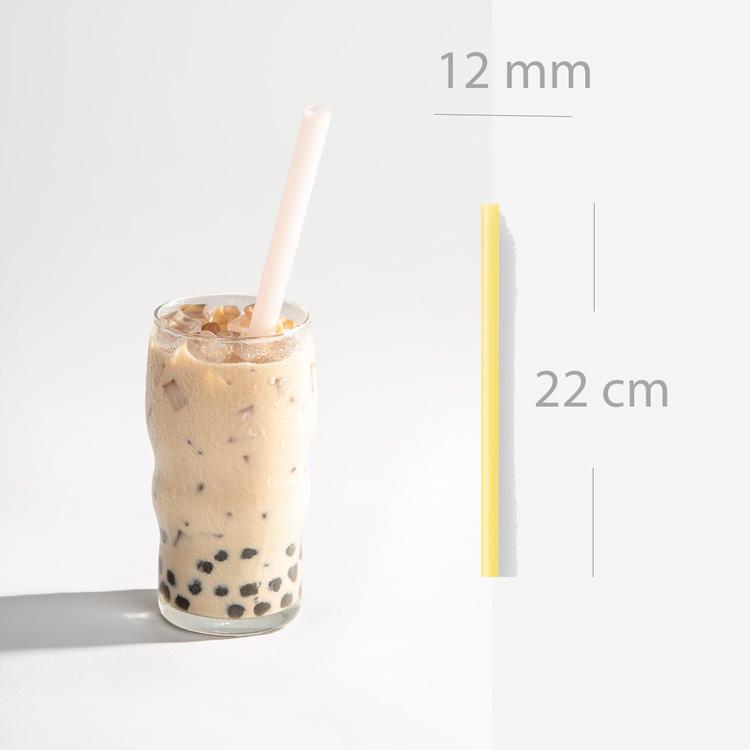 ống hút trà sữa size dài